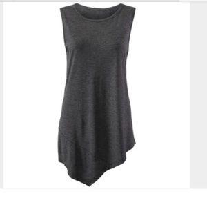 Cabi Charcoal Grey Sleeveless Top SZ Medium